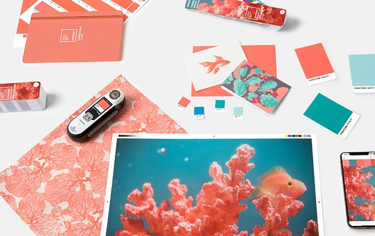 pantone color of the year 2019 living coral tools graphics packaging min