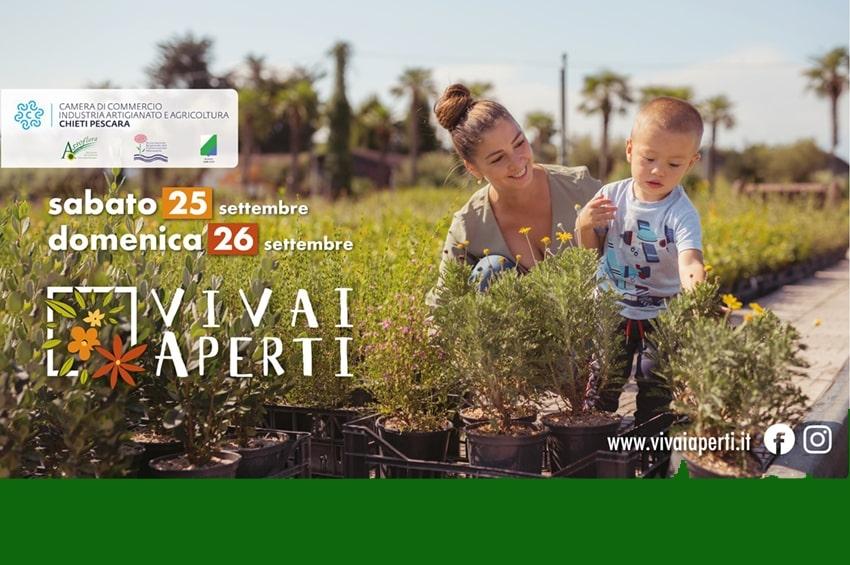 25-26 Settembre: Vivai Aperti 2021 nelle province di Chieti e Pescara