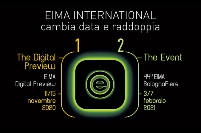 EIMA International slitta a febbraio 2021 e rilancia a novembre 2020 una Digital Preview