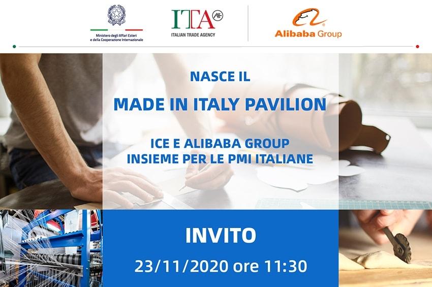 Made in Italy in vetrina su Alibaba.com, il 23 Novembre la presentazione del progetto