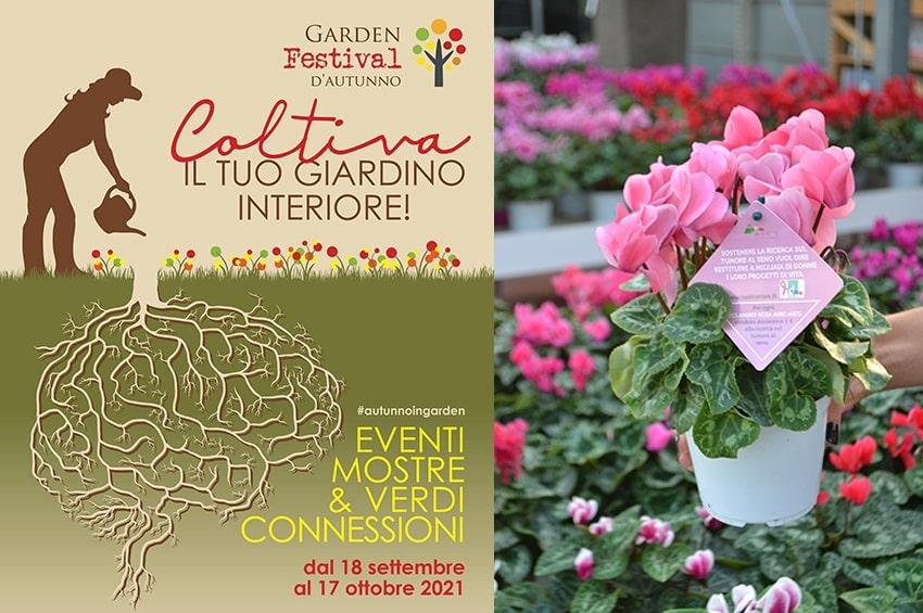 """""""Garden Festival d'Autunno"""": le connessioni tra natura e mente al centro della sesta edizione"""
