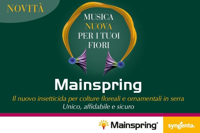 Parassiti delle ornamentali: MAINSPRING è la risposta!